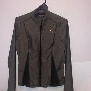 Puma Breathable Zip Up Jacket